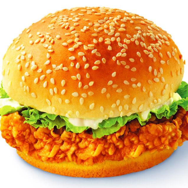 牛肉燕麦堡