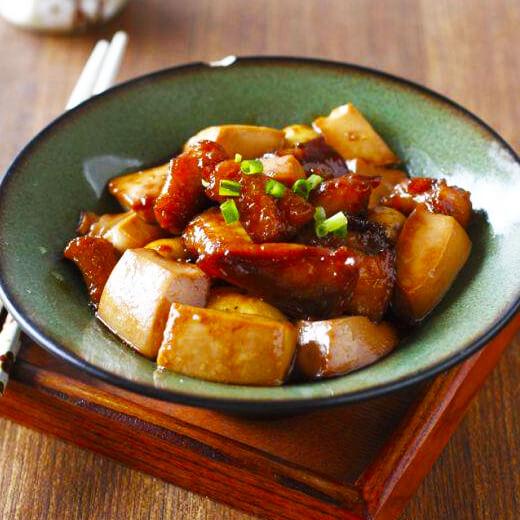 扁口鱼炖豆腐