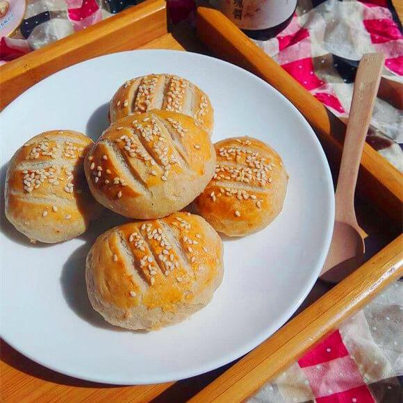 玫瑰酱小麦饼