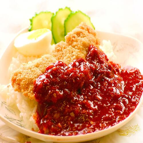 美味韩式泡菜饭