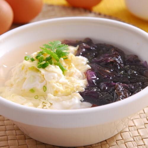 黄瓜紫菜鸡蛋汤