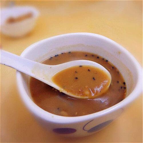 黄豆面油茶面