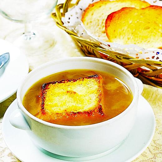 味道不错的法式烤洋葱汤