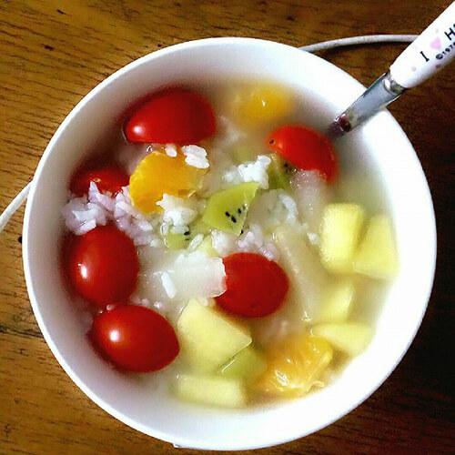 创意水果腊八粥