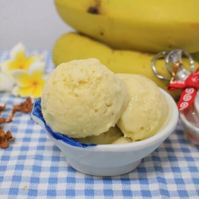香蕉牛奶雪糕