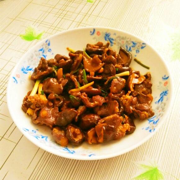 香菇牛肉小炒