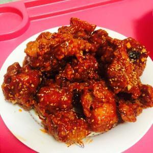 喷香韩式调味炸鸡