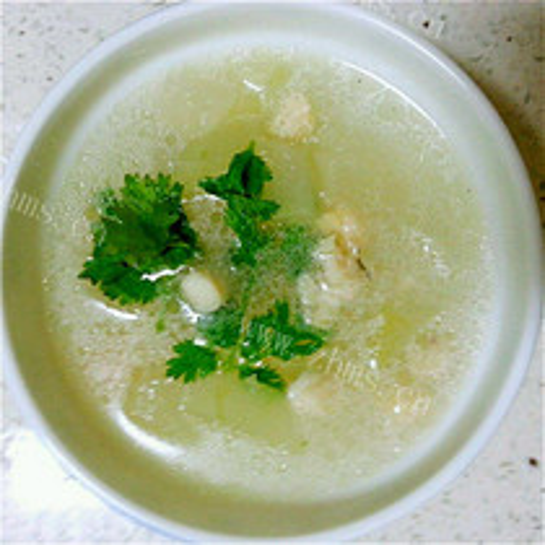 瑶柱肉丸冬瓜汤
