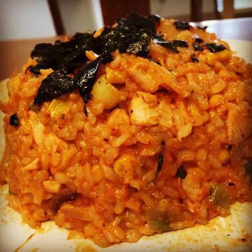 好吃的韩式辣椒炒饭