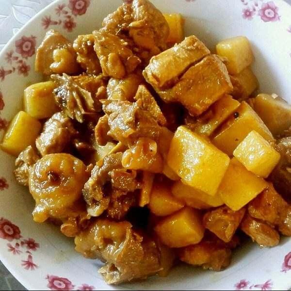 黄刺鱼炖土豆