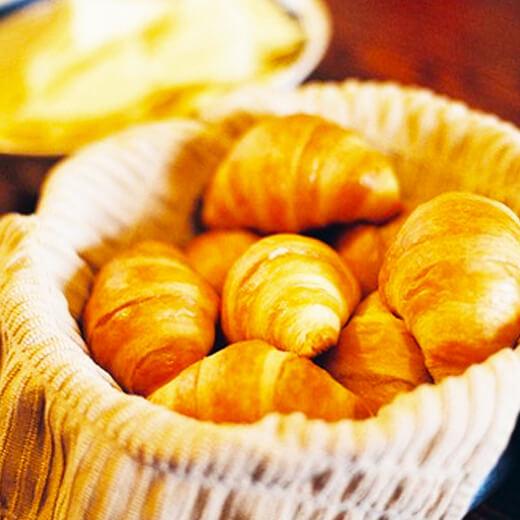 香橙牛角面包