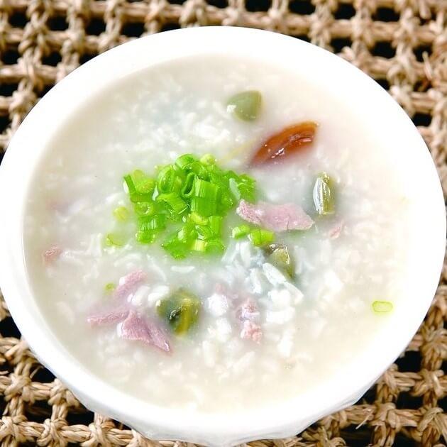 白菜牛肉小米粥