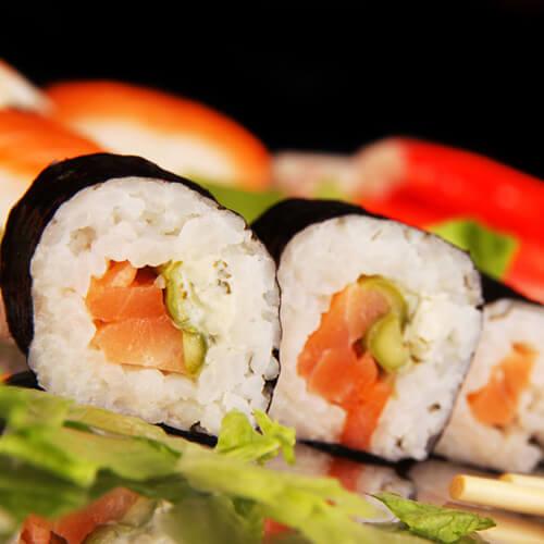 自制的寿司