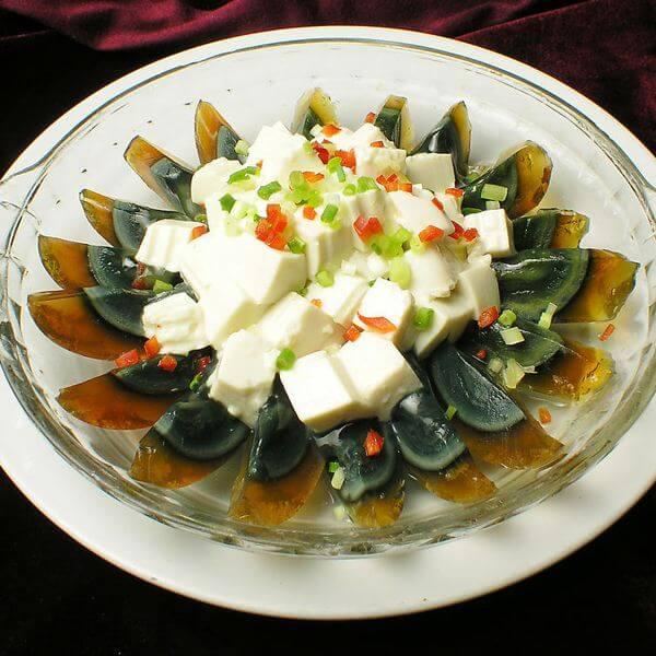 花式皮蛋豆腐