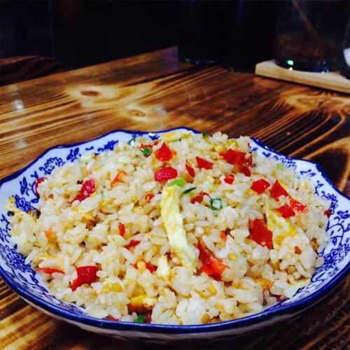剁椒包菜蛋炒饭