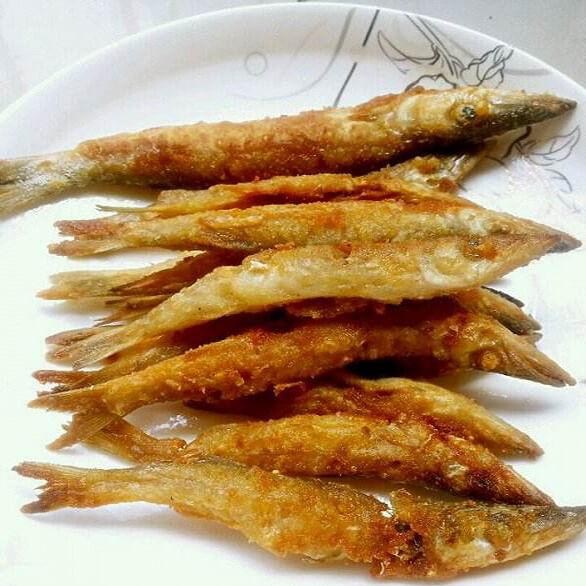 香煎小海鱼