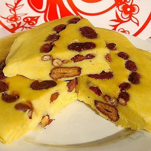 好吃的东北黄米切糕
