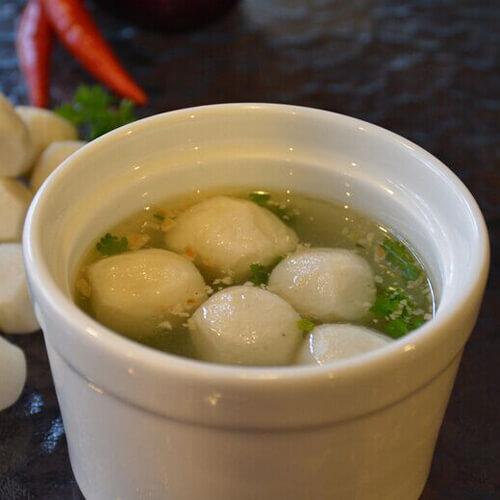 韩国泡菜鱼丸汤