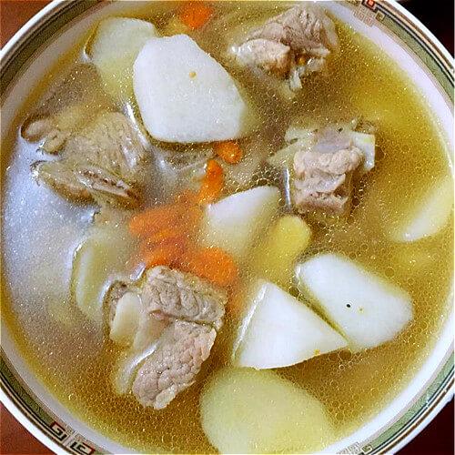 肉骨茶汤头