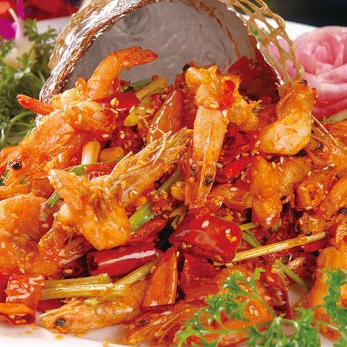 好吃的避风塘香酥虾