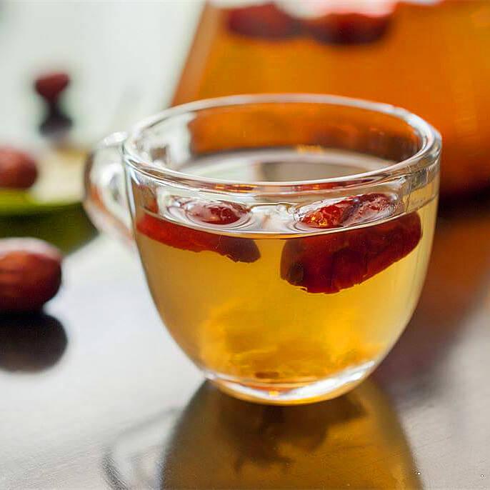 美味的糯米红枣茶