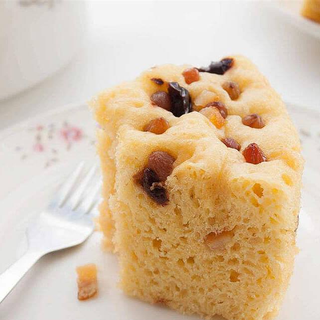 红枣玉米面蒸蛋糕