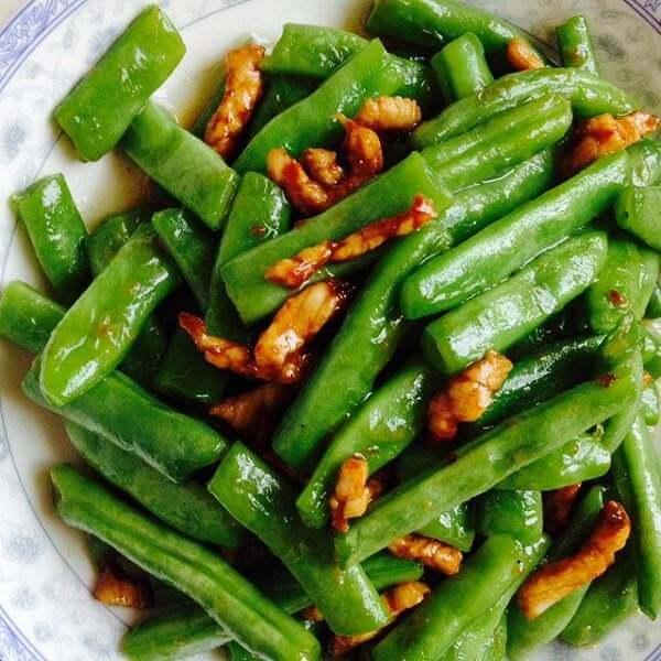 香干四季豆