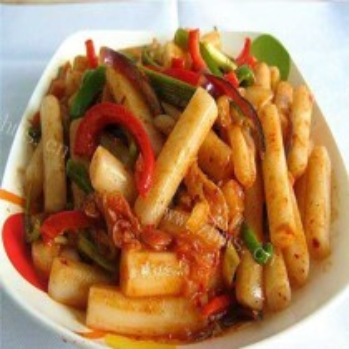 泡菜炒年糕