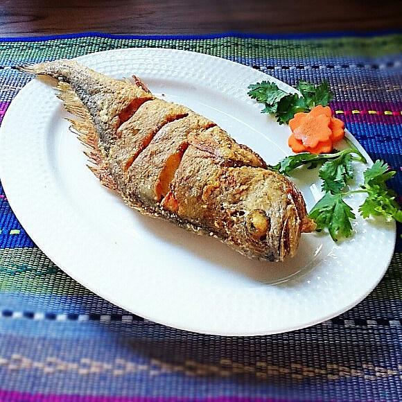 干炸大黄鱼