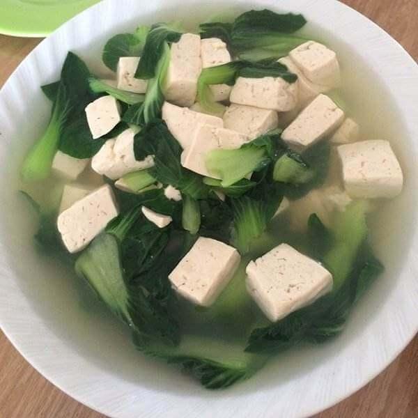 君叠菜煮豆腐