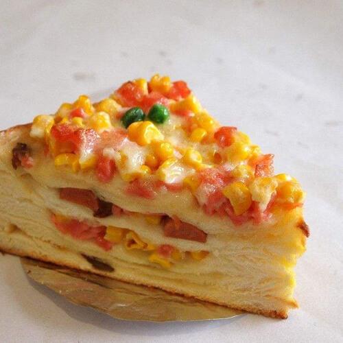 鸡蛋玉米三明治