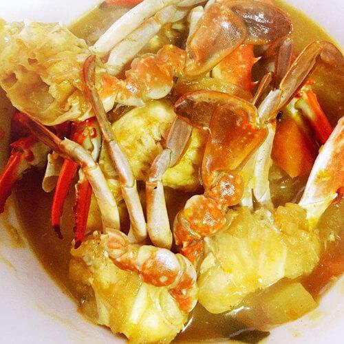 椰浆咖喱螃蟹