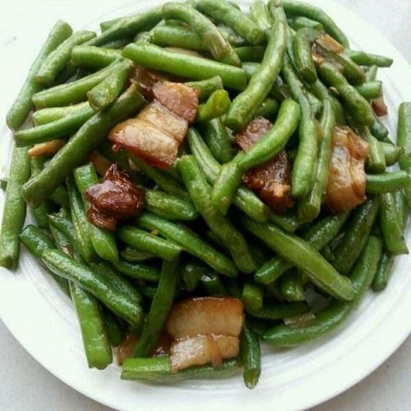 烤肉炒长豆