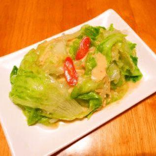 彩椒腐乳生菜