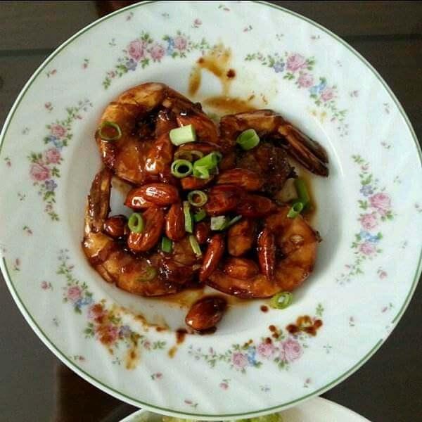 蒜味糖醋虾