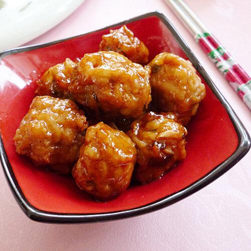 鲜香藕丸子