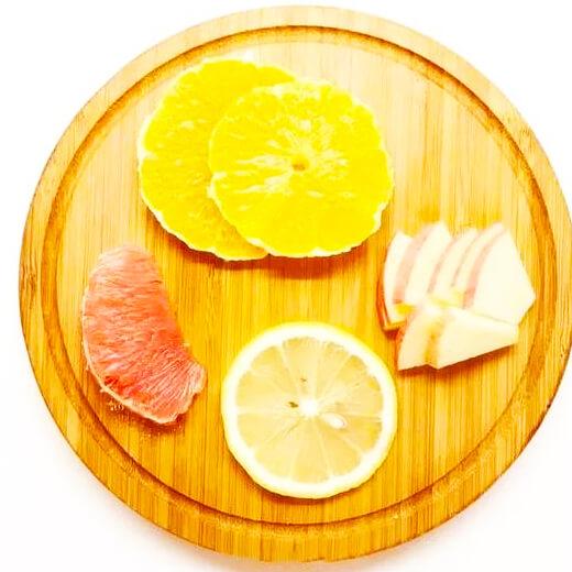 橙子西柚排毒水