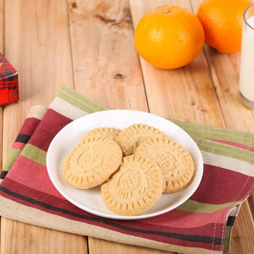 香酥黄油圆形饼干