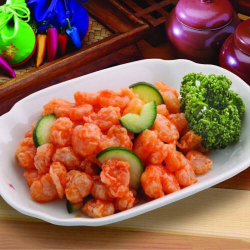 木樨虾仁柿子