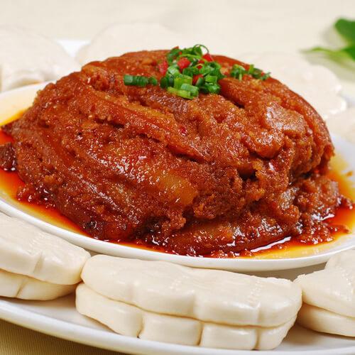 想念的油豆腐生蒸肉