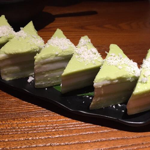 美味的红糖九层糕