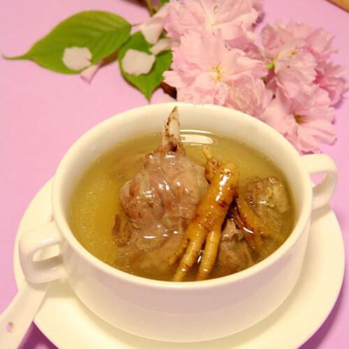 人参炖老鸭汤
