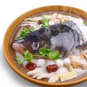 营养清炖花鲢鱼头