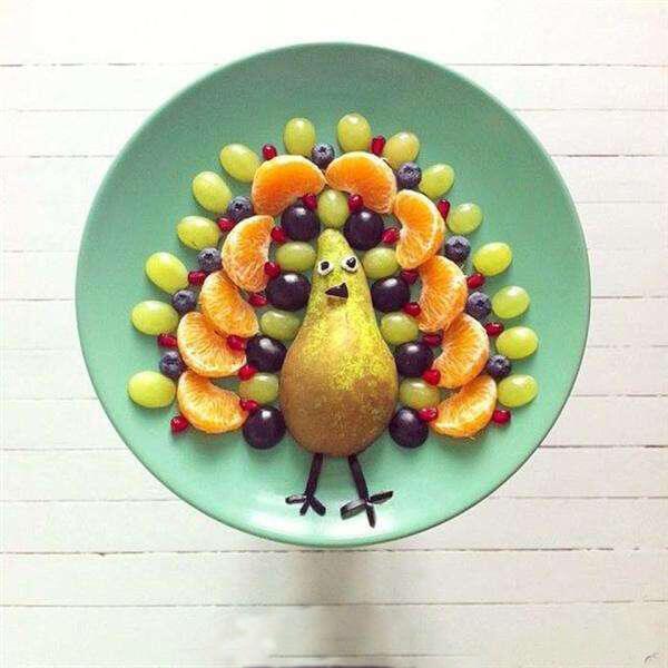 童趣水果沙拉拼盘