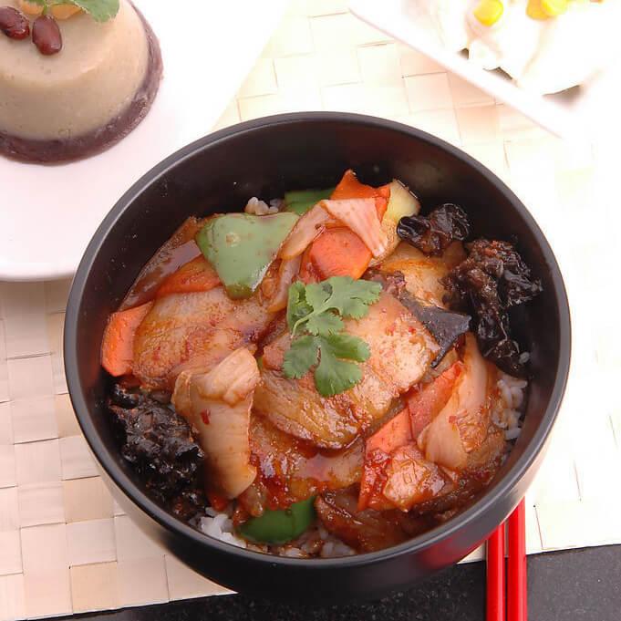韩式泡菜饭