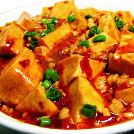 大蒜辣豆腐