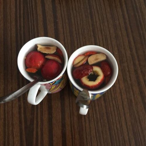 小小红枣山楂茶