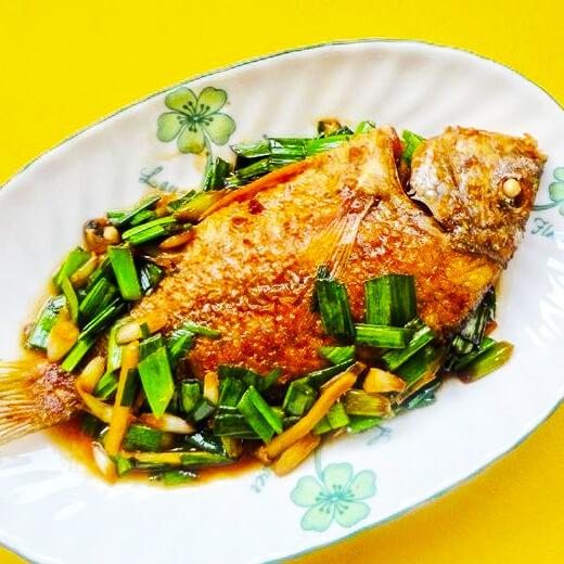 茄汁黄翅鱼