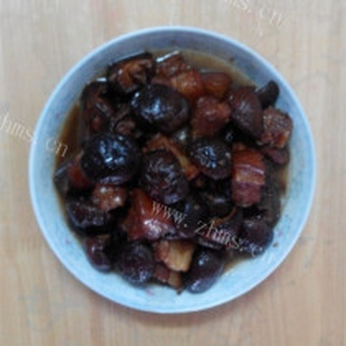 红烧肉香菇