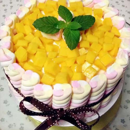 萌萌羊奶油翻糖蛋糕